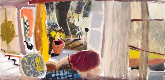 Ivon Hitchens, Studio with open Doors, 1942